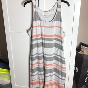 Loft Racerback Maxi Dress XL